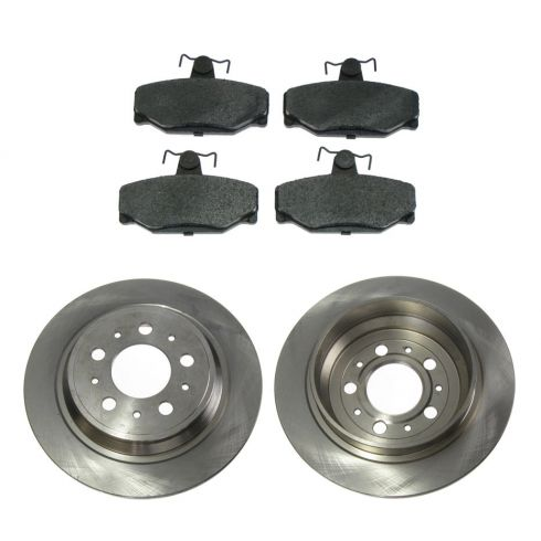 Disc Brake Rear Rotor & Pad Set AX34142, AXCD391