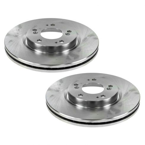 07-10 Chrysler, Dodge, Jeep, Mitsubishi Multifit Front Brake Rotor PAIR
