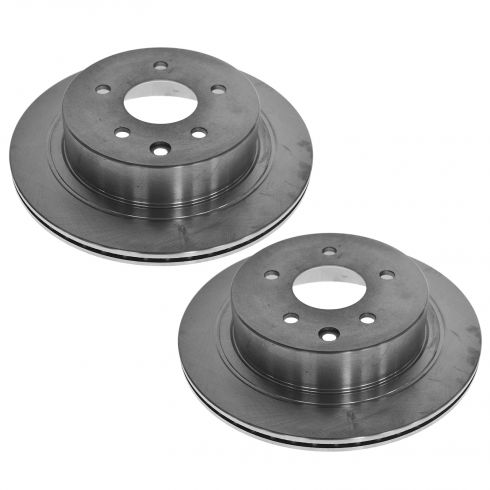 03-05 Infiniti G35; 03-05 Nissan 350Z, 08-11 Rogue; 02-07 X-Trail  Rear Brake Rotor Pair