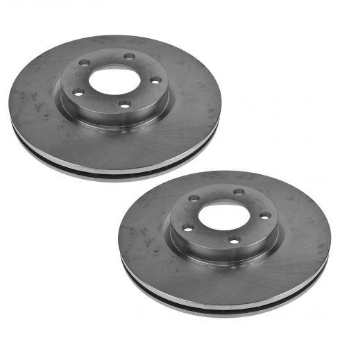 04-11 Mazda 3 2.3L, 2.5L; 06-10 Mazda 5 Front Brake Rotor PAIR