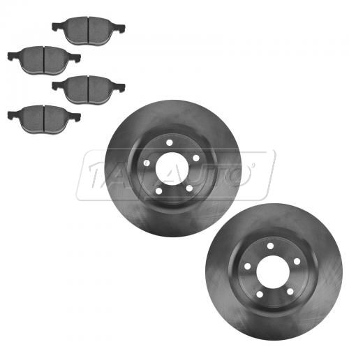 Front Ceramic Disc Brake Pads & Rotor Set CD1230, AX31363