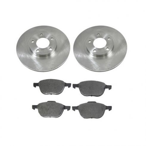 Front Ceramic Disc Brake Pads & Rotor Set  AXCD1044,  AX31363