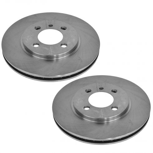 84-91 BMW 3 Series Front Brake Rotor Pair