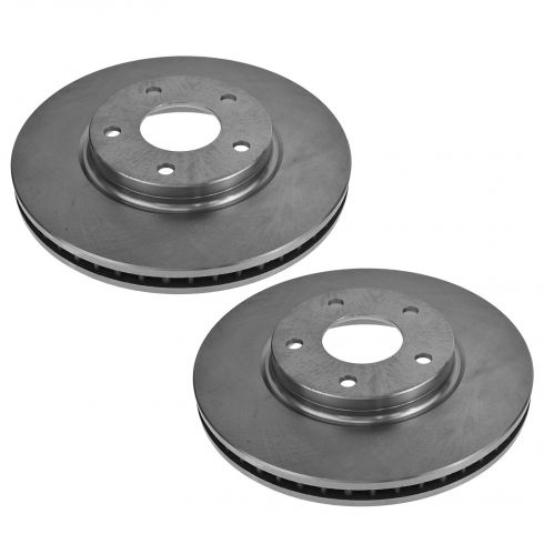 03-04 Infiniti M45; 02-06 Q45; 04-09 Nissan Quest Front Brake Rotor Pair