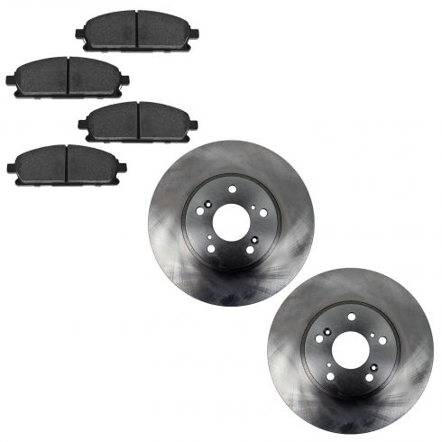 03-06 Acura MDX Front Semi-metallic Pads & Rotor Set