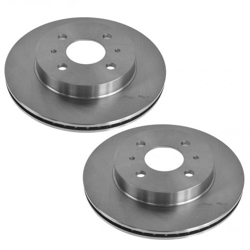 1991-02 Saturn SC SL SW Brake Rotor Front Pair
