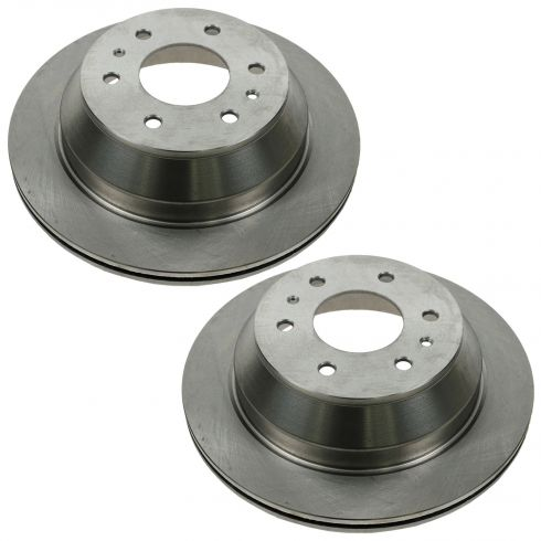 2002-06 Rainer Ascender Rnvoy Trailblazer Brake Rotor Rear Pair