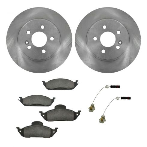 Ceramic Disc Brake Pads & Rotor Set AXCD760, AX34147