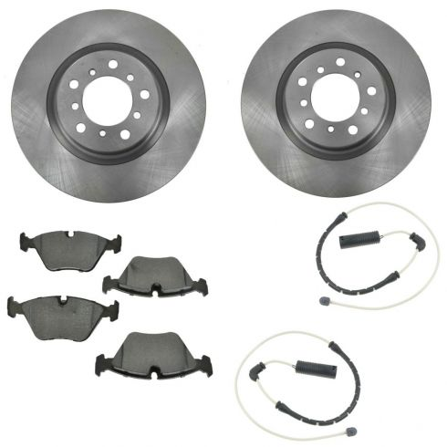 Brake Pad with Sensors & Rotor Kit