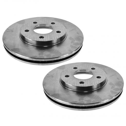 06-07 Chevy HHR; 08-11 HHR (w/Rear Drum) Front Brake Rotor Pair