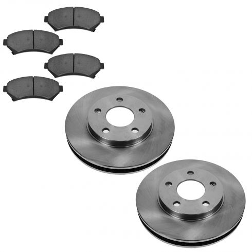 1997-05 Venture Regal Bonneville Grand Prix Frt Ceramic Pad & Brake Rotor Set