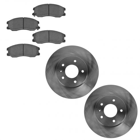 07-09 Equinox, Torrent; 08-09 Vue; 07-09 XL-7 Front Disc Brake Rotors & Ceramic Pad Set