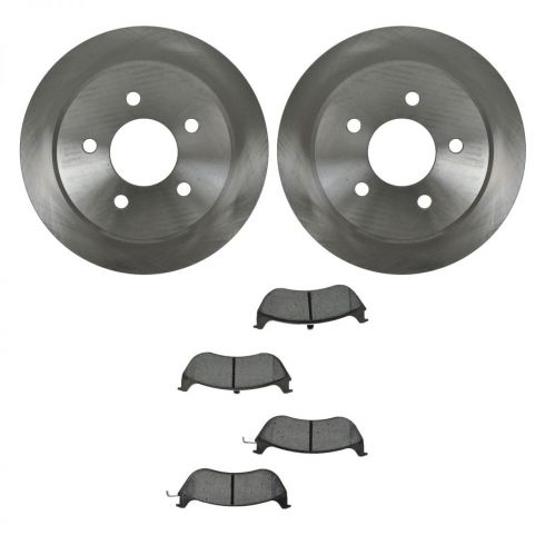 Brake Pad (1.75 Inch Clip) & Rotor Kit CERAMIC