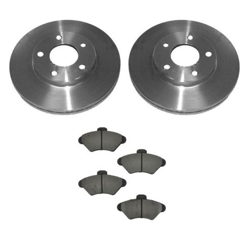 Brake Pad & Rotor Kit CERAMIC