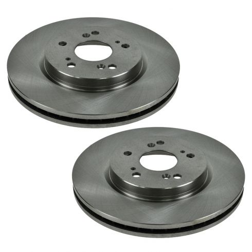 07-11 Acura RDX, Honda CR-V; 10-11 Crosstour Front Disc Brake Rotor Pair