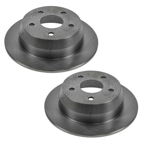 99-04 Jeep Grand Cherokee Rear Disc Brake Rotor Pair