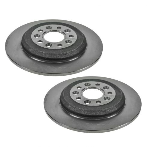 05-12 Ford, Lincoln, Mercury Mid Size FWD Multifit Rear Disc Brake Rotor Pair