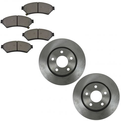 05-08 Lacrosse; 05-08 Grand Prix; 05 SV6, Relay, Uplander Fr Metallic Pands & Rotors Set