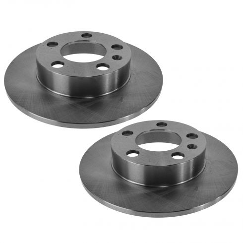 00-06 TT; 01-10 VW Multifit Rear Disc Brake Rotor Pair