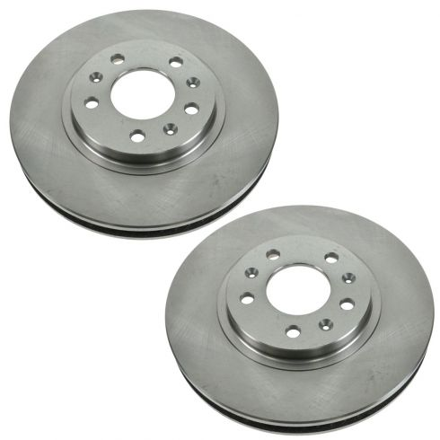 03-07 Cadillac CTS (w/RPO FE1) Front Disc Brake Rotor Pair