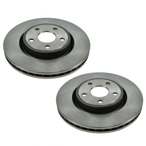 11-12 Durango (w/HD Brakes), 11-12 Grand Cherokee (exc 17 Inch Whls) Front Disc Brake Rotor Pair