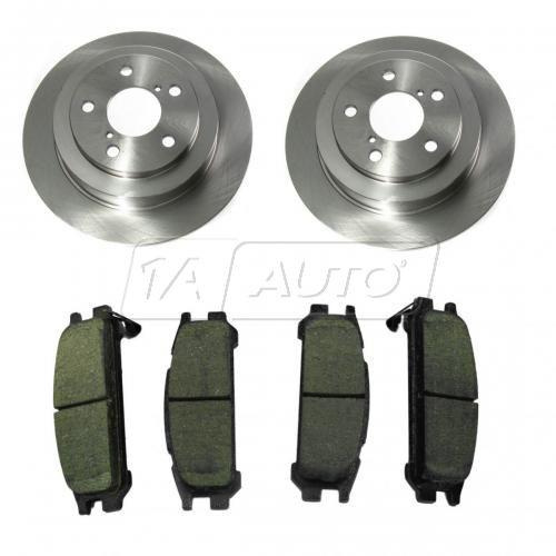 Brake Pad & Rotor Kit ORGANIC
