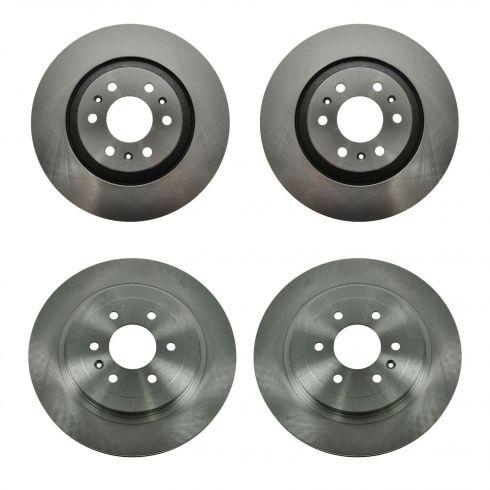 Brake Rotor Set of 4