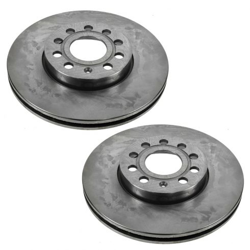 11-12 Audi A3; 05-12 VW Multifit (288mm) Front Brake Rotor Pair
