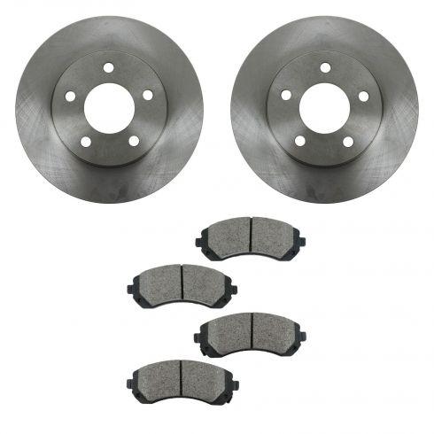 Brake Pad & Rotor Kit