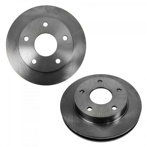 94-99 Dodge Ram 1500 w/4WD & RWAL Front Disc Brake Rotor PAIR