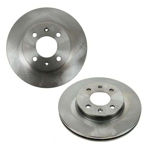 06-11 Hyundai Accent, Kia Rio Front Disc Brake Rotor PAIR