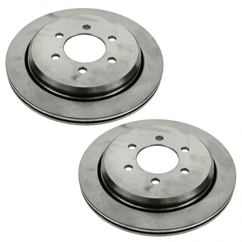 03-06 Expedition, Navigator Rear Wheel Disc Brake Rotor PAIR