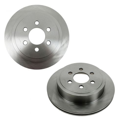 03 Dodge Durango Rear Disc Brake Rotor PAIR