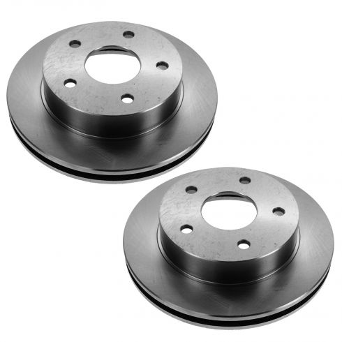 00-01 Dodge Ram 1500 w/4WD Front Disc Brake Rotor PAIR