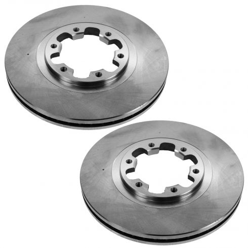 98-03 Infiniti QX4; 99 (from 12/98)-04 Pathfinder Front Disc Brake Rotor PAIR