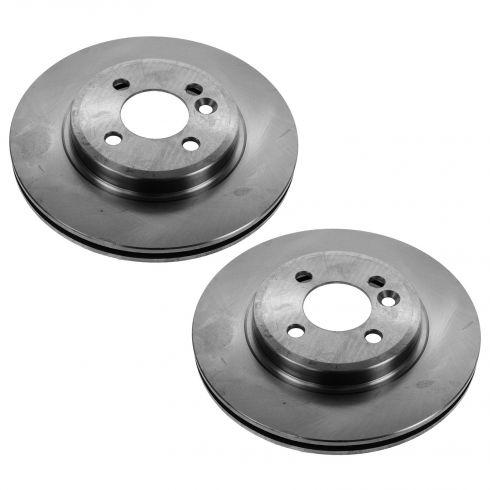 02-03 Mini Cooper; 04-06 (thu 7/11/06) exc JCW Front Disc Brake Rotor PAIR