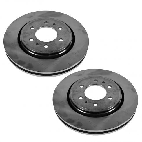 07-12 Expedition, Navigator; 10-12 F150 (w/6 Lug Whl) Front Disc Brake Rotor PAIR