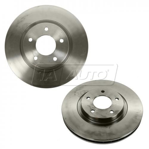 00-03 XJ8 (w/SC); 99 XJR; 99 (from Vin 037348)-06 XK8 (w/o Brembo) Front Disc Brake Rotor PAIR