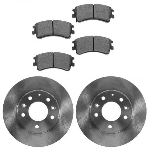 03-05 Mazda 6 Front Semi-Metallic Pads & Rotors Set