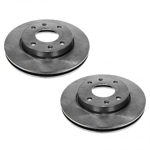 01-02 Magentis, Optima; 02-03 Sonata; 04 Sonata w/10 inch Front Disc Brake Rotor PAIR
