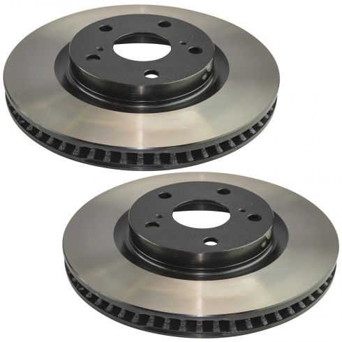 06-13 Toyota Rav4; Avalon; Camry; Lexus Multifit Front E-Coated Brake Rotor Pair