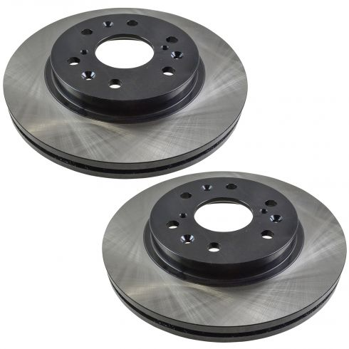 05-13 GM Full Size Truck SUV Front E-Coated Brake Rotor Pair