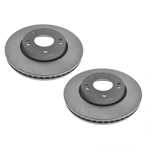 03-12 Hyundai; Kia Multifit Front E-Coated Brake Rotor Pair