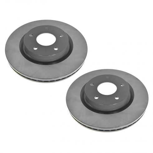 07-12 Nissan Altima Front E-Coated Brake Rotor Pair