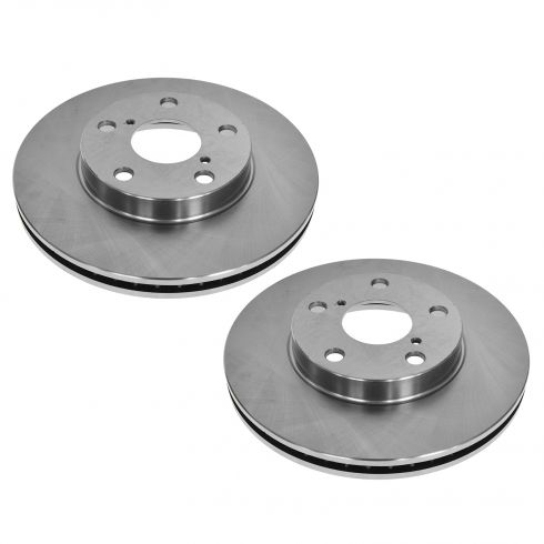 01-05 Toyota Rav4 Front Disc Brake Rotor PAIR