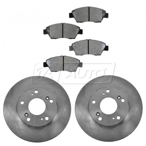 02-06 RSX Front Semi Metallic Pads & Rotor Set