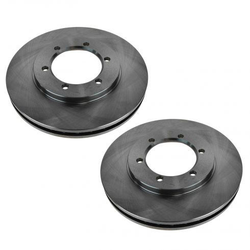 00 (from 3/00) Nissan Frontier w/2WD; 01-04 Frontier w/2.4L Front Disc Brake Rotor PAIR