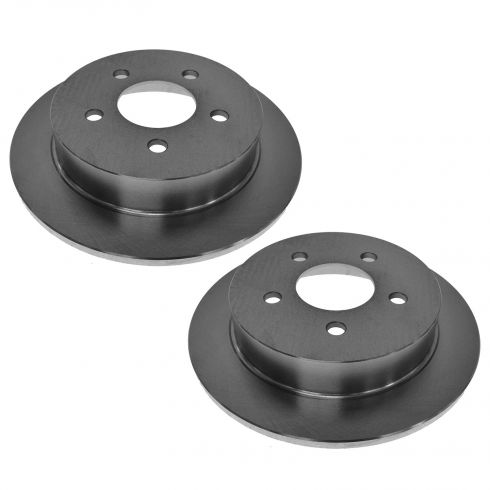 09 Buick Lacrosse; 06-10 Chevy Impala; 06-07 Monte Carlo Rear Disc Brake Rotor PAIR