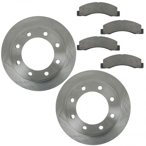 00-05 Ford Excursion Ceramic Front Brake Pad & Rotor Set