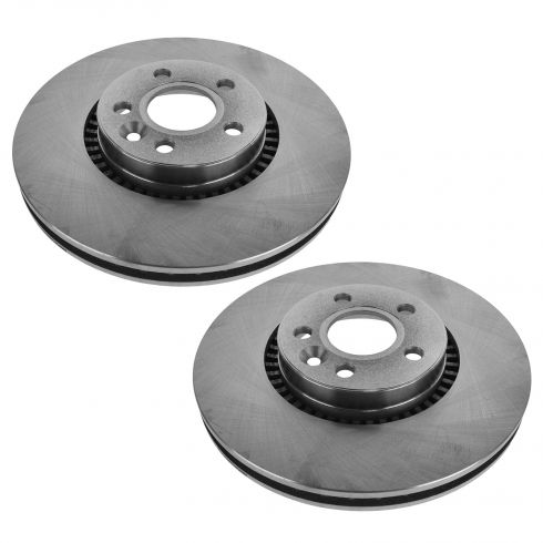 08-14 Land Rover LR2; Volvo XC70, V70, S60, S80 Front Disc Brake Rotor Pair